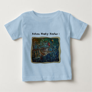 MUSKY Bucktl Bordered Baby T-Shirt