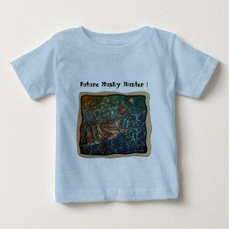 MUSKY Bucktl Bordered Baby T-Shirt