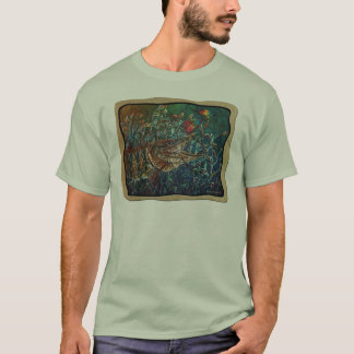 MUSKY Bucktl Bordered T-Shirt