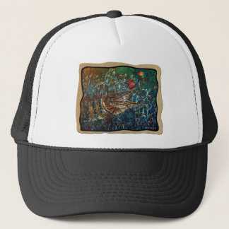 MUSKY Bucktl Bordered Trucker Hat