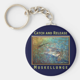 MUSKY C and R Keychain
