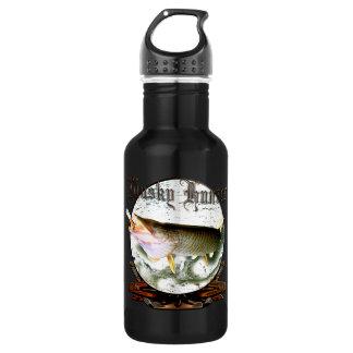 Musky hunter 1 18oz water bottle
