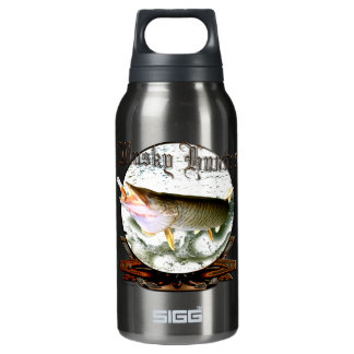 Musky hunter 1 10 oz insulated SIGG thermos water bottle