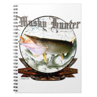 Musky hunter 1 spiral notebook