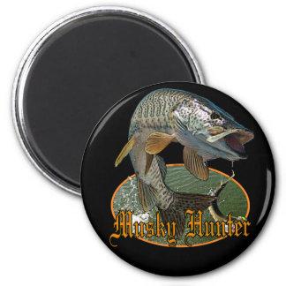 Musky Hunter 9 2 Inch Round Magnet