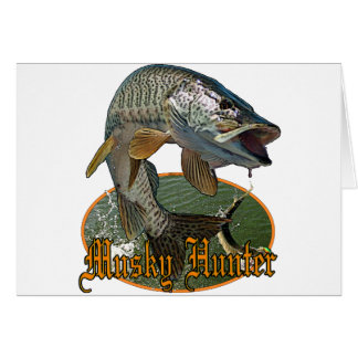 Musky Hunter 9 Card