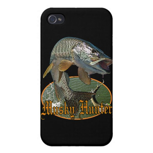 Musky Hunter 9 iPhone 4 Cases