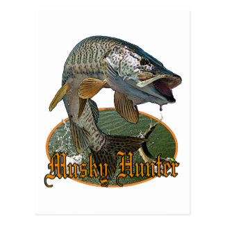 Musky Hunter 9 Postcard
