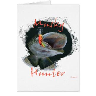 Musky Hunter Card