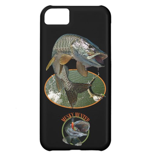 Musky Hunter Case For iPhone 5C