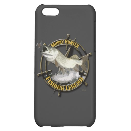 Musky Hunter legend Cover For iPhone 5C