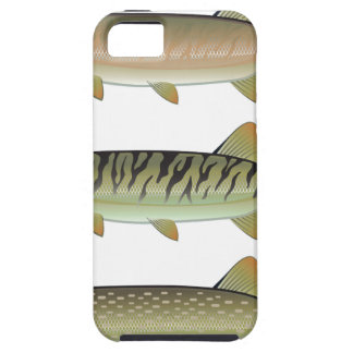 Musky Tiger musky and Northern Pike vector iPhone SE/5/5s Case
