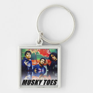 Musky Toes - the Band Keychain