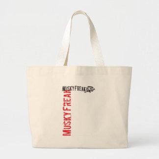 MuskyFreak_Red Tote Bag