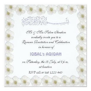 Aqiqah Invitations Zazzle