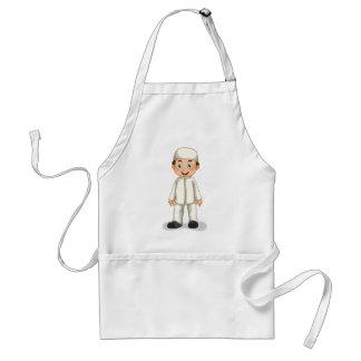 Muslim boy adult apron