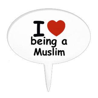 Muslim design cake topper