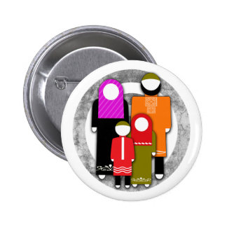 Muslim Family Button