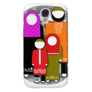 Muslim Family Samsung Galaxy S4 Cover