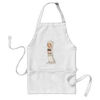 Muslim girl adult apron