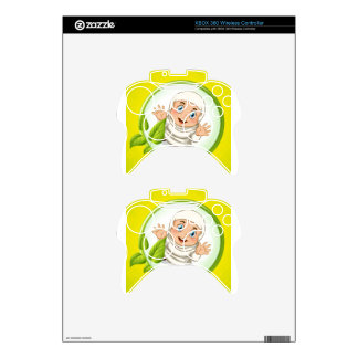 Muslim girl with happy face xbox 360 controller skin