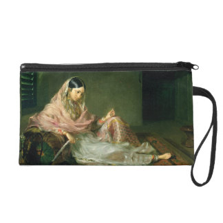 Muslim Lady Reclining, 1789 (oil on canvas) Wristlet Purse
