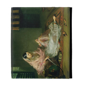 Muslim Lady Reclining, 1789 (oil on canvas) iPad Folio Cover