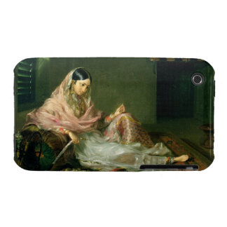 Muslim Lady Reclining, 1789 (oil on canvas) Case-Mate iPhone 3 Case