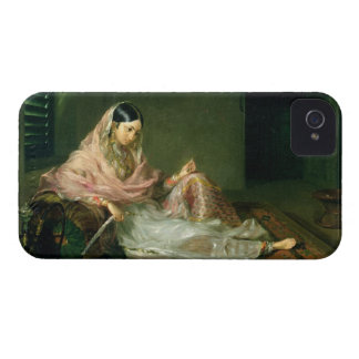 Muslim Lady Reclining, 1789 (oil on canvas) iPhone 4 Covers