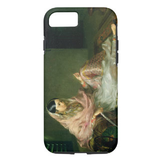 Muslim Lady Reclining, 1789 (oil on canvas) iPhone 8/7 Case