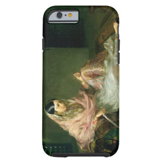 Muslim Lady Reclining, 1789 (oil on canvas) iPhone 6 Case