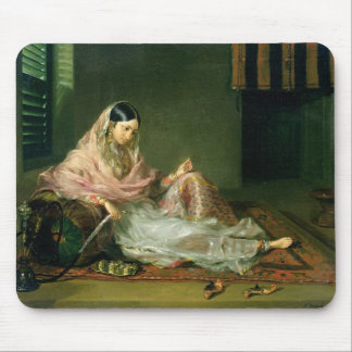 Muslim Lady Reclining, 1789 (oil on canvas) Mouse Pad