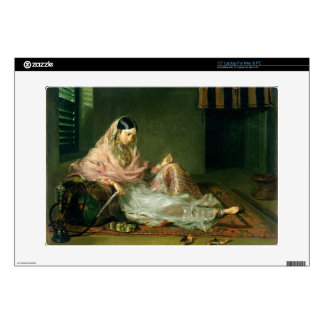 Muslim Lady Reclining, 1789 (oil on canvas) Skin For Laptop