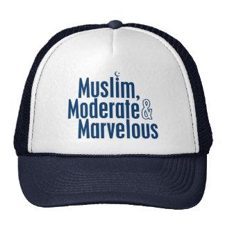 Muslim, Moderate & Marvelous Trucker Hat