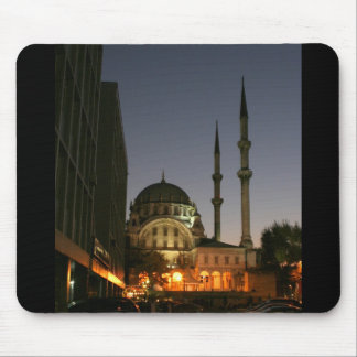 Muslim mosque in Istanbul, Turkey Mouse Pad