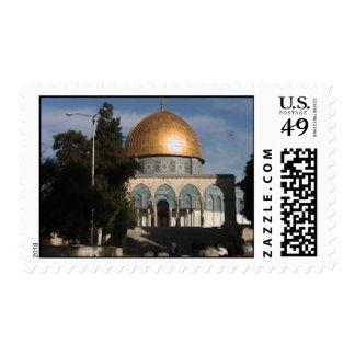 Muslim Mosque Postage Stamp
