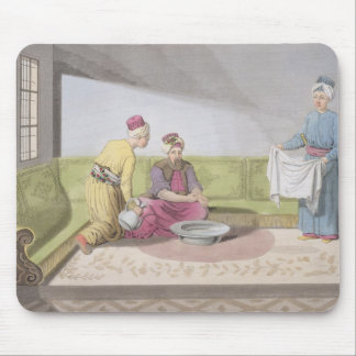 Muslim Performing his Ablutions, plate 34 from Par Mouse Pad