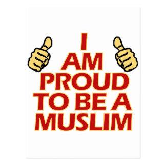 MUSLIM religious designs Postcard
