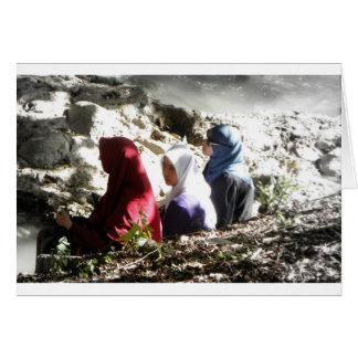 Muslim Sisters Card