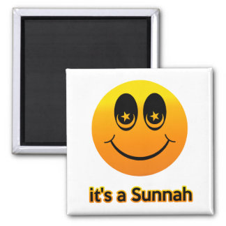 Muslim Smiles Magnet