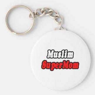 Muslim SuperMom Keychain