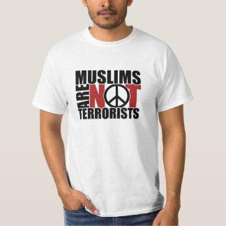 Muslims are not terrorists t-shirt