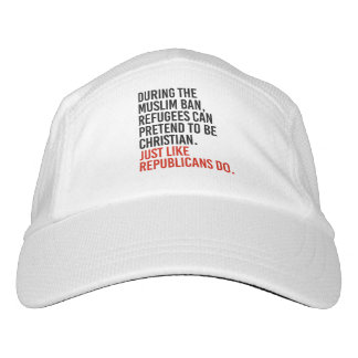 Muslims can pretend to be Christian just like Repu Hat