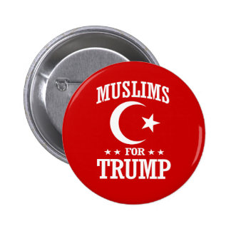 MUSLIMS FOR TRUMP BUTTON