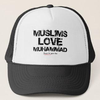 Muslims Love Muhammad Trucker Hat