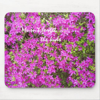 Musn't forget... mouse pad