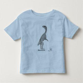 Mussaurus de la camisa del dinosaurio del niño por