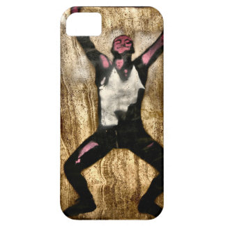 Musscleman Strongman Weightlifter Dumbbell Barbell iPhone 5 Cases