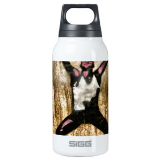Musscleman Strongman Weightlifter Dumbbell Barbell 10 Oz Insulated SIGG Thermos Water Bottle
