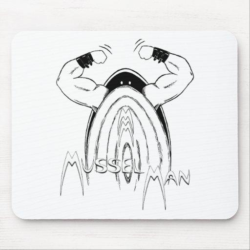 Mussel Man Mousemats